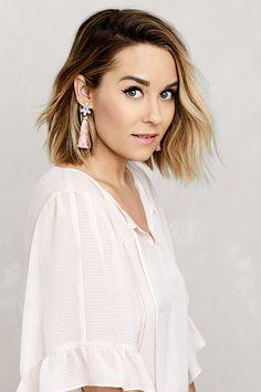 b3c48fe9e6549 5 ways to style short hair via laurenconrad.com Lauren Conrad Short Hair,  Lauren