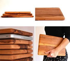 MacBook-shaped cutting board