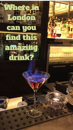 It's the coolest, or should I say hottest, drink in town!