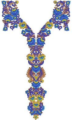 High Stitch Full Set Dress Embroidery Design