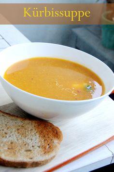Kürbissuppe mit Ingwer und Chili