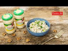 WIELKANOCNA SAŁATKA KSIĄŻĘCA - TRADYCYJNY PRZEPIS - przepyszna sałatka, którą kocha moja rodzina. Idealne połączenie pieczarek i oczywiście majonezu Orzo, Grains, Rice, Food, Youtube, Salads, Meal, Essen, Hoods