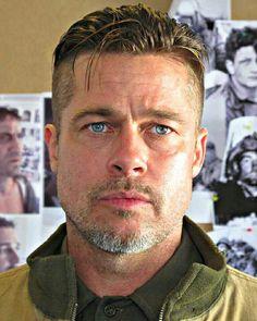 Brad Pitt Fury Haircut Ideas To Pull Off | MensHaircuts.com