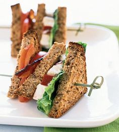 Fresh & Cool Summer Meals: Chicken Club Sandwich (via Parents.com)
