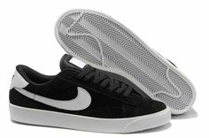 Nike Blazer Low Classic Ac ND Suede Mens Shoes Black UK Cost For Sale