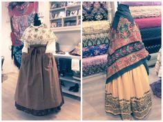 Guarda tu traje de baturra en Zaragoza en un almacén en Alquila tu espacio European Dress, Aragon, Costumes, Traditional, Skirts, Dresses, Ideas, Fashion, Folklore