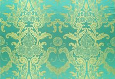 Designers Guild Almaviva Turquoise fabric (Ariana collection)