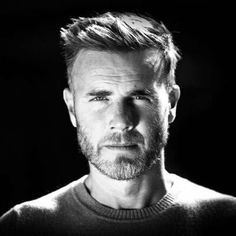Beautiful,fascinating and fabulous Gary ❤❤❤ Gary Barlow, Hot Guys, Hot Men, Another Man, Black And White Portraits, Celebs, Celebrities, No One Loves Me, My Boys