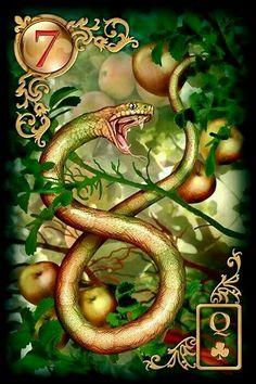 Lenormand 7 Snake