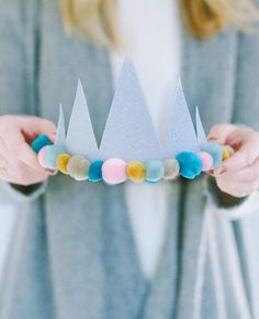 DIY Art & Crafts : DIY birthday crowns