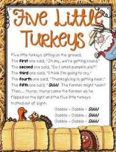 Super Craft Thanksgiving Preschool Activities For Preschoolers 28 Ideas Thanksgiving Poems, Thanksgiving Crafts For Toddlers, Fall Preschool, Preschool Songs, Thanksgiving Songs For Preschoolers, November Preschool Themes, Turkey Crafts For Preschool, The Meaning Of Thanksgiving, Thanksgiving Activities For Kindergarten