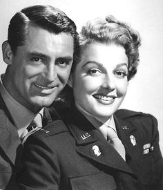 If you were born in 1949, that year people were loving going to see the new Cary Grand/Ann Sheridan movie 'I Was A Male War Bride.' Cary wore a ladies wig in it at one point and fans howled at the screen.