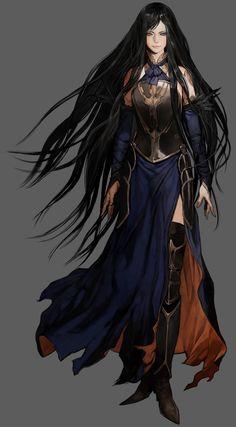 "Castlevania: Order of Ecclesia ""Shanoa"" byMasaki Hirooka"