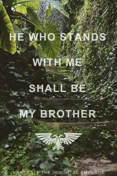 and he who stands against me shall be my mother-in-law.