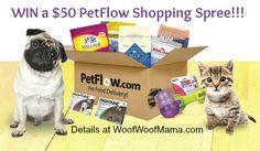 WIN a $ 50 PetFlow Shopping Spree!