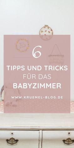 Schönes Babyzimmer für Jungen und Mädchen einrichten - mit diesen Tipps für Möbel, Babybett, Dekoration und Stauraum kannst du dein Babyzimmer mit viel Liebe einrichten. Die Tipps auf meinem Mamablog eignen sich für kleines Budget und auch für kleine Zimmer.