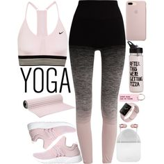A fashion look from September 2017 featuring Pepper & Mayne activewear pants, NIKE sports bras and ARKK Copenhagen sneakers. Browse and shop related looks.