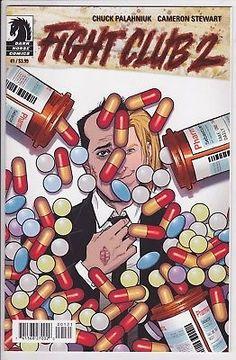 FIGHT CLUB 2 #1 Dark Horse Comics VARIANT edition cover Pills