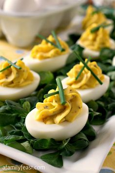 The best recipe for perfect Deviled Eggs!