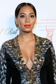 solange knowles | SOLANGE KNOWLES at 2012 Angel Ball in New York