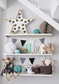 Detalles para un dormitorio infantil- bebé.