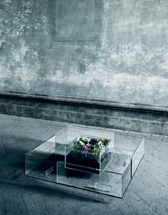 A Glass Table For All Seasons by Jean-Marie Massaud - Design Milk