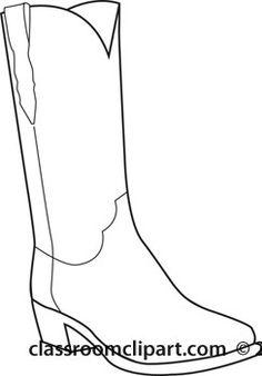 Cowboy Boot Blank Diagram - Block And Schematic Diagrams •