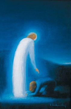 Vzkriesený Kristus a Mária Magdaléna