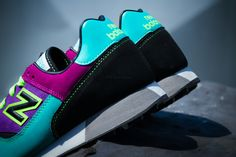 NEW BALANCE TRAILBUSTER (PURPLE/TEAL) | Sneaker Freaker