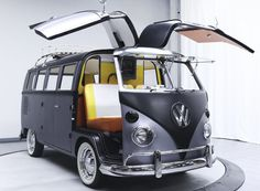 revamped 1967 volkswagen bus becomes back to the future time machine | Netfloor USA