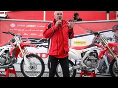 #Honda reveals #2014 #CRF250R Explains new specification