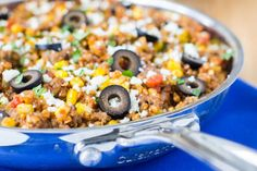 Easy Mexican Skillet with Buckwheat from @culinaryhill is a great weeknight meal option full of whole grains and familiar Mexican ingredients. Ready in just 25 minutes. http://thestir.cafemom.com/food_party/189895/13_recipes_to_try_because