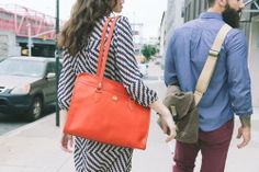make a statement with a bright bag
