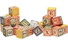 Uncle Goose Classic Embossed Alphabet Blocks ABC - non-toxic coloring, made in the USA - come in many different alphabets! Love these blocks. Wooden Blocks For Kids, Wooden Alphabet Blocks, Kids Blocks, Baby Blocks, Letter Blocks, Wood Blocks, Toddler Toys, Kids Toys, Toddler Games