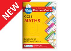 Maths GCSE Pocket Posters are colourful and engaging revision guides that simplify key Maths topics to improve pupils' understanding. Gcse Revision Books, Revision Guides, Maths, Posters, Pocket, Poster, Billboard, Bag
