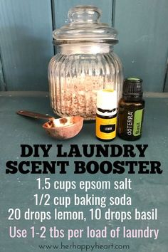 20 Homemade Cleaning Products (With Oils!) You Can Whip Up In A Flash 20 Homemade Cleaning Products (With Oils!) You Can Whip Up In A Flash DIY Laundry Detergent Scent Booster Essential Oils For Laundry, Homemade Essential Oils, Making Essential Oils, Diy Vanity, Homemade Cleaning Products, Cleaning Tips, Speed Cleaning, Homemade Wipes, All Natural Cleaning Products