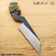 The Bladetricks Krav III is a compact everyday carry self defense knife. #knife #tactical #kravmaga