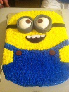 Minion cake! #birthdaycake #minions #adorable