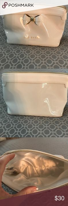 Ted baker cosmetic bag. Ted baker cosmetic bag, never use leather and vinyl. Ted Baker of London Bags Cosmetic Bags & Cases