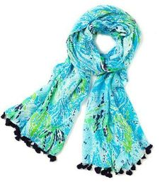 Lilly Pulitzer Murfee Scarf in Lets Cha Cha