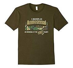 Amazon.com: Ammosexual Gun Rights Shirts - I Identify as Ammosexual Tee. #ammosexual #shootingsports #gunlovers #gunrights #funnytees