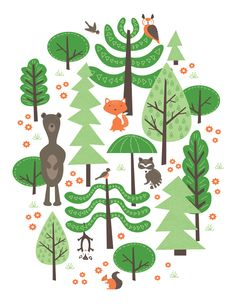 Wildwood by Eine Kleine Design Studio Up for scoring on Threadless