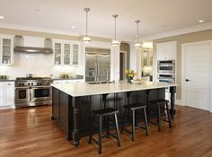 #53 - Owner - Los Altos - traditional - kitchen - san francisco - by Precision Cabinets & Trim