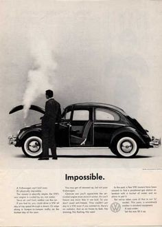 vintage vw ad and others
