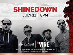Waterloo NY! New #Shinedown show announcement!   Barry Kerch Brent Smith Eric Bass Shinedown Shinedown Nation Shinedowns Nation Zach Myers