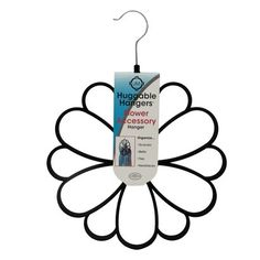 Joy Mangano Huggable Hangers® Accessory Hanger - Black