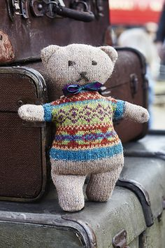 Ravelry: Edward Ted pattern by Marie Wallin