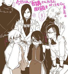 〖 TAGS: Naruto Orochimaru Mitsuki Sarada Uchiha Karin Suigetsu Jugo 〗
