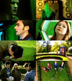 doctor who + green