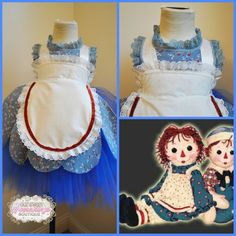 Hey, I found this really awesome Etsy listing at https://www.etsy.com/listing/201678246/raggedy-ann-inspired-tulle-tutu-vintage